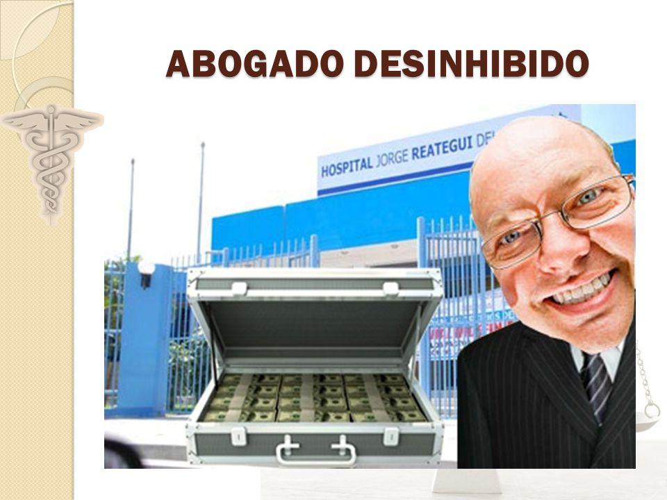 ABOGADO DESINHIBIDO
