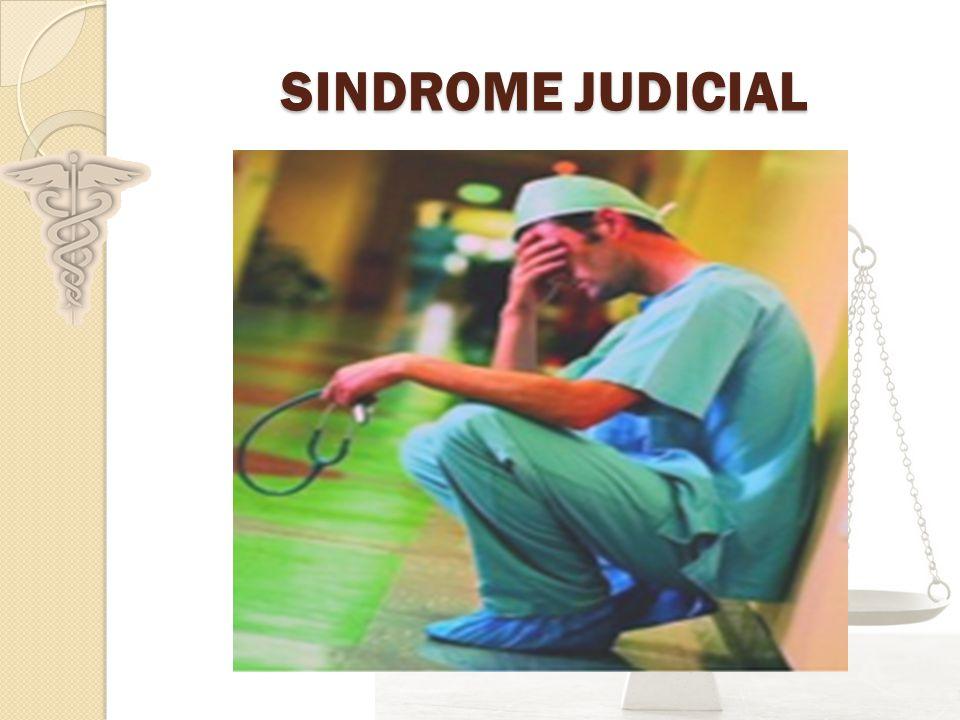 SINDROME JUDICIAL