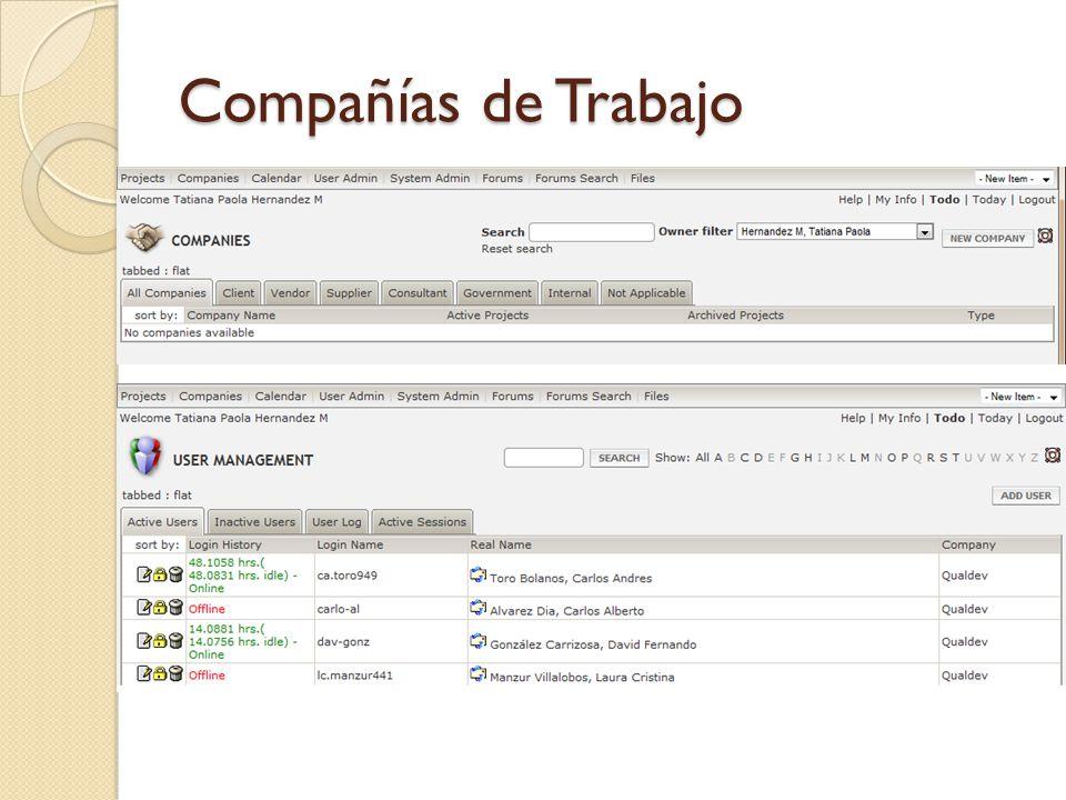 Compañías de Trabajo