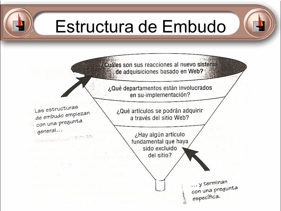 Estructura de Embudo