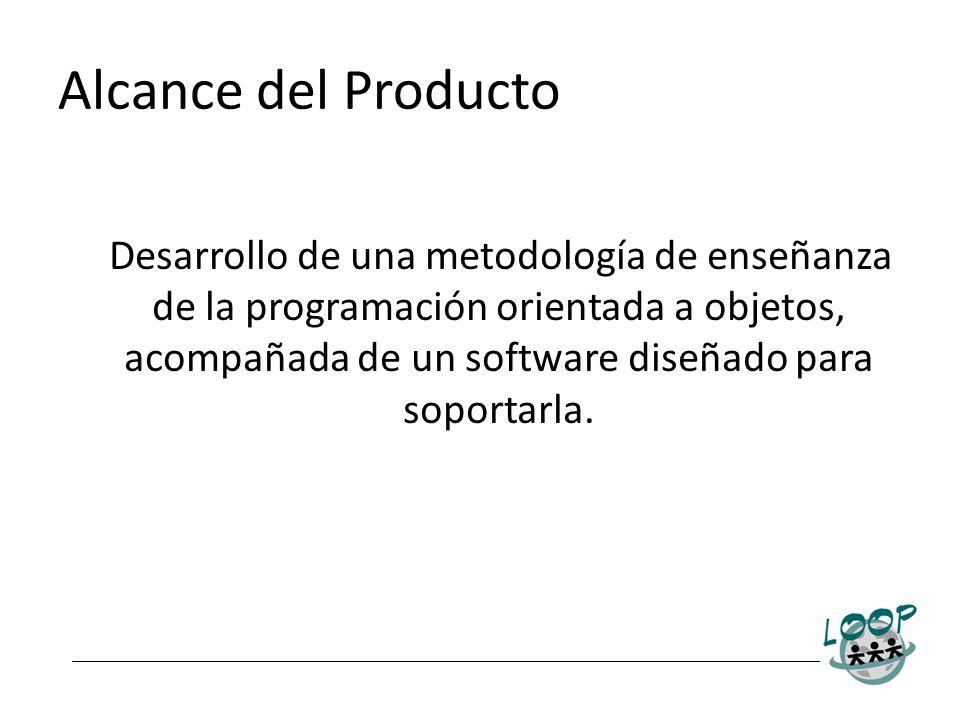 Desarrollo de una metodología de enseñanza de la programación orientada a objetos, acompañada de un software diseñado para soportarla.