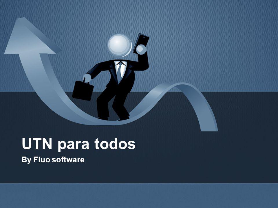 UTN para todos By Fluo software