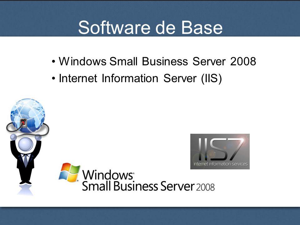 Software de Base Windows Small Business Server 2008 Internet Information Server (IIS)