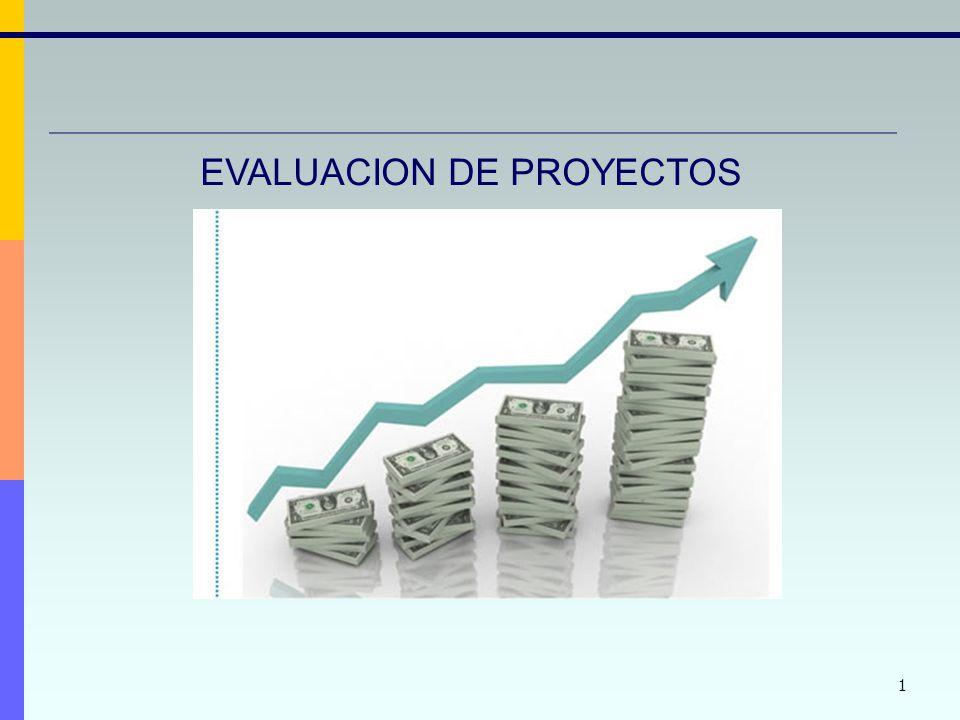 12 Criterios de Evaluación y Selección de Proyectos Criterio de Aceptación: Se debe aceptar todo proyecto cuyo VAN sea mayor que 0 Criterio de Comparación: Se elige el proyecto con mayor VAN - Siempre que todos los VAN sean positivos - Si los proyectos que se comparan tienen igual duración Significado: Mide lo que queda para el dueño del proyecto luego de computar: -Los ingresos -Los costos operativos y otros -Las inversiones y -En la tasa de descuento, el costo de oportunidad del capital