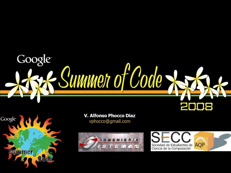 V. Alfonso Phocco Diaz vphocco@gmail.com