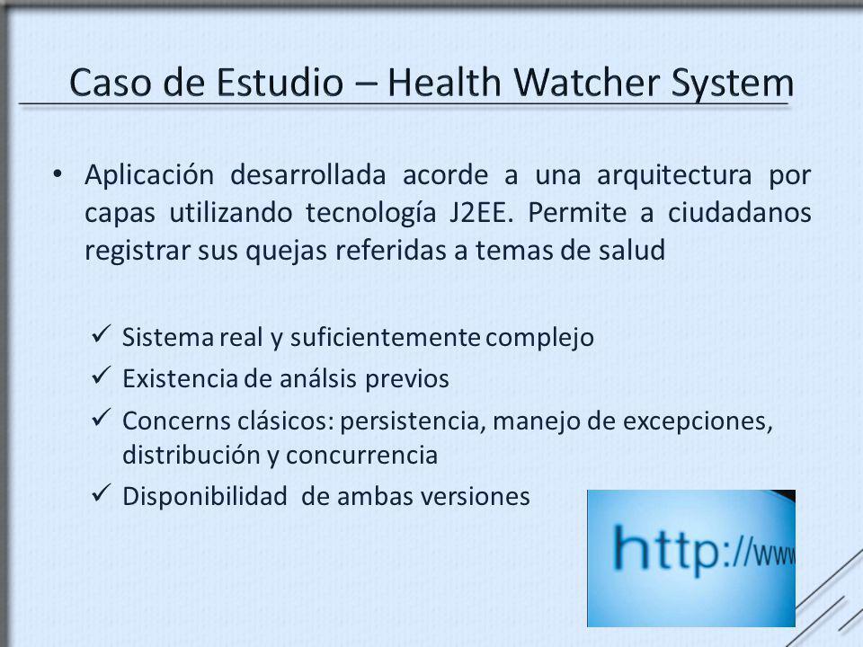 Aplicación desarrollada acorde a una arquitectura por capas utilizando tecnología J2EE. Permite a ciudadanos registrar sus quejas referidas a temas de