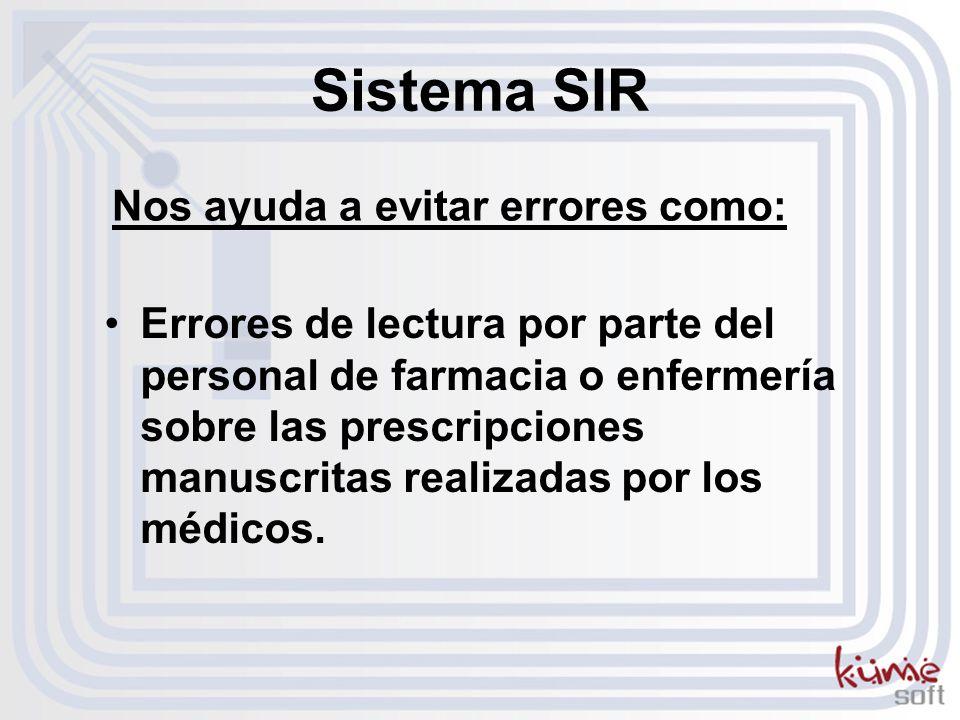 Errores de lectura por parte del personal de farmacia o enfermería sobre las prescripciones manuscritas realizadas por los médicos.