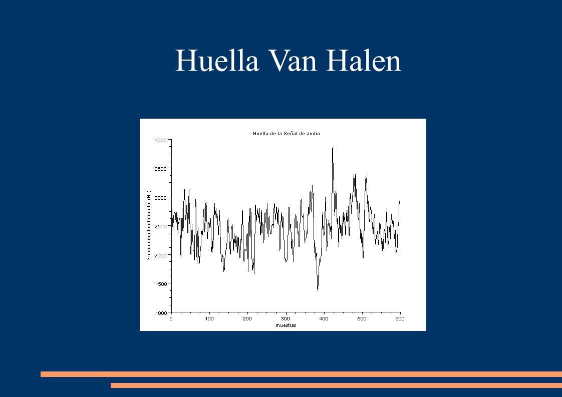 Huella Van Halen