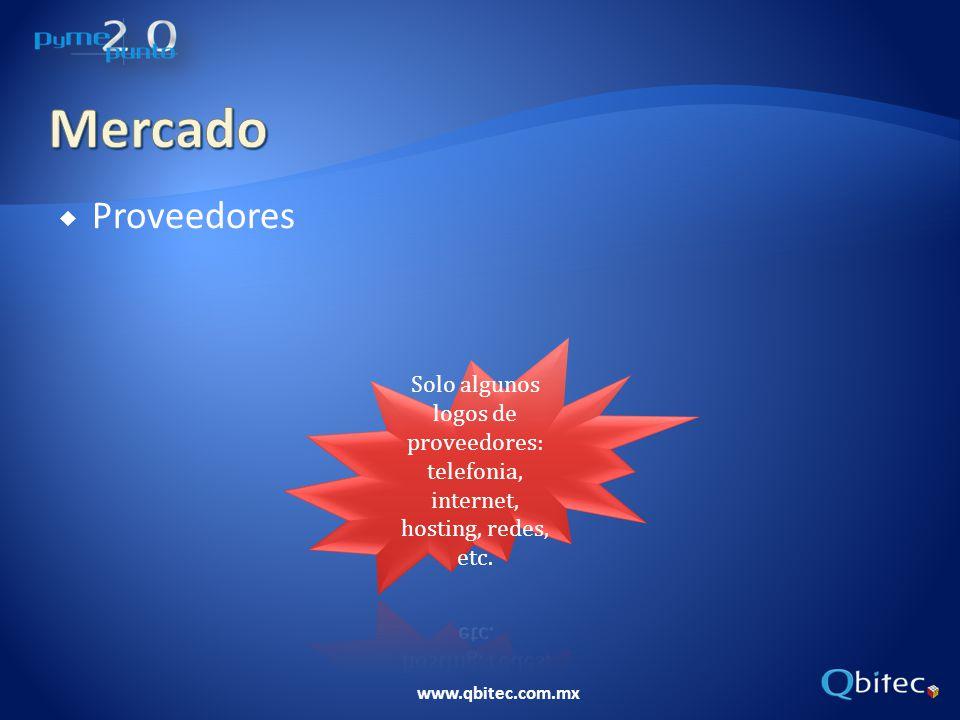 www.qbitec.com.mx Proveedores