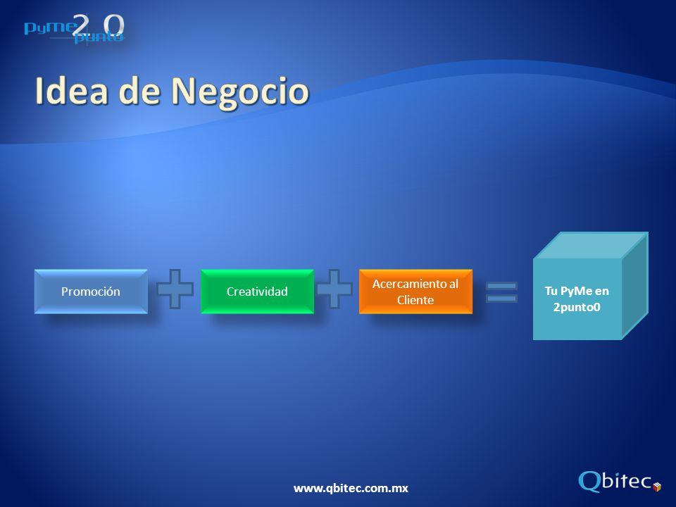 www.qbitec.com.mx En caso de contar con información financiera, incluir: 1.