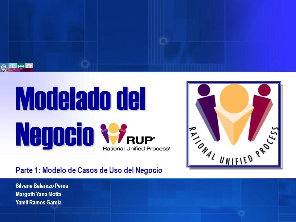 Silvana Balarezo Perea Margoth Yana Motta Yamil Ramos García Modelado del Negocio Parte 1: Modelo de Casos de Uso del Negocio