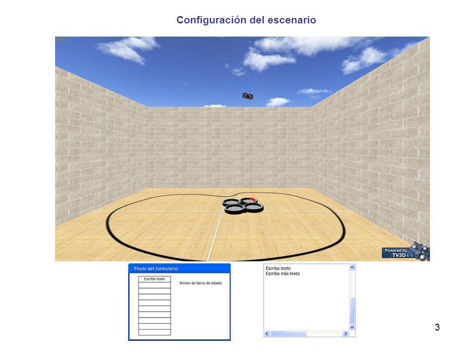 Configuración del escenario 3