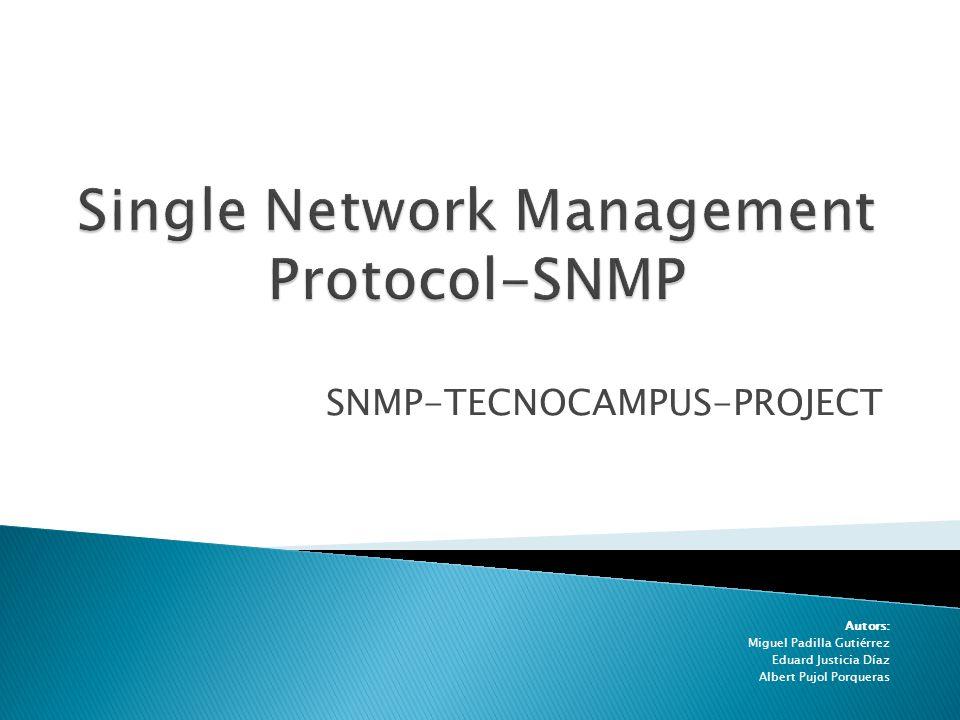 -¿Qué es SNMP.