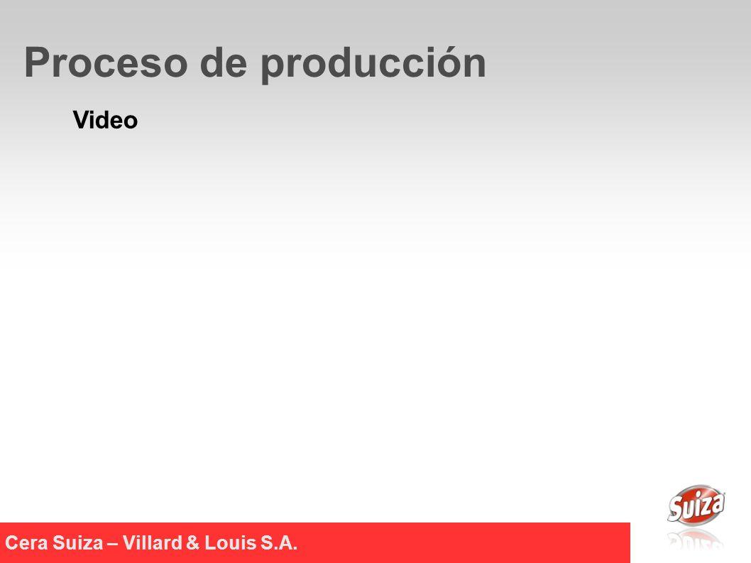 Video Cera Suiza – Villard & Louis S.A. Proceso de producción