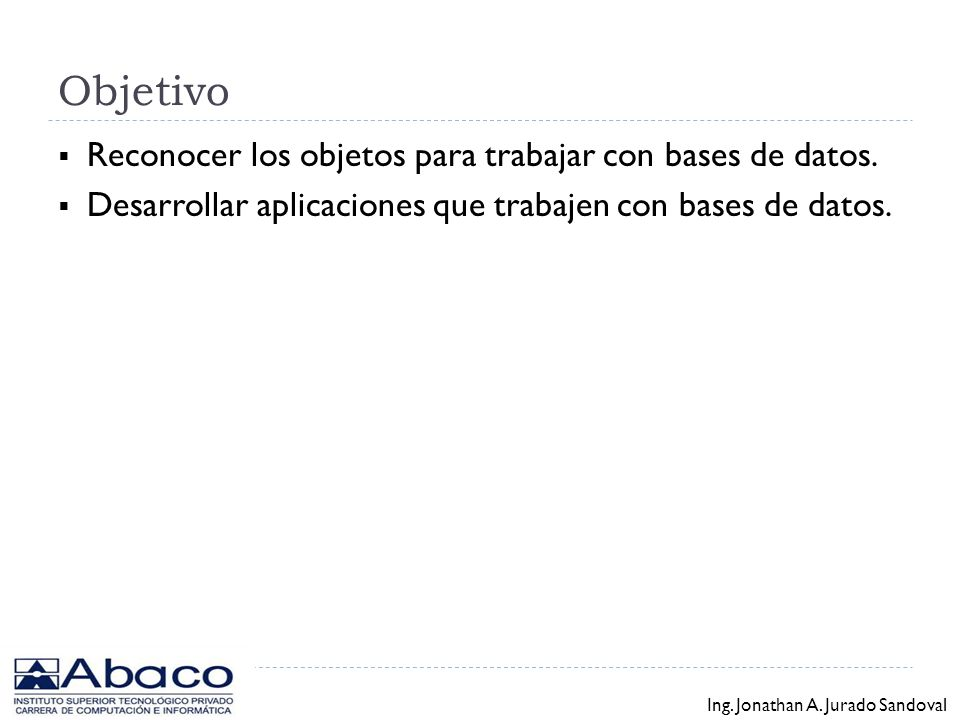 Temas Java Database Connectivity (JDBC).Uso de drivers de terceros.