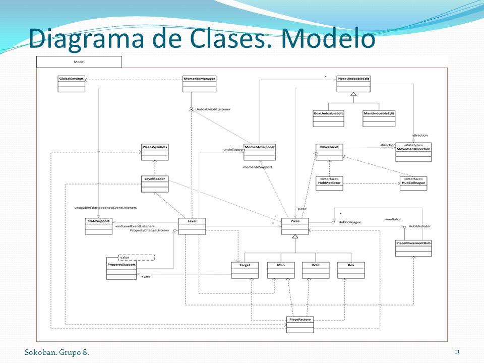 Diagrama de Clases. Modelo Sokoban. Grupo 8. 11