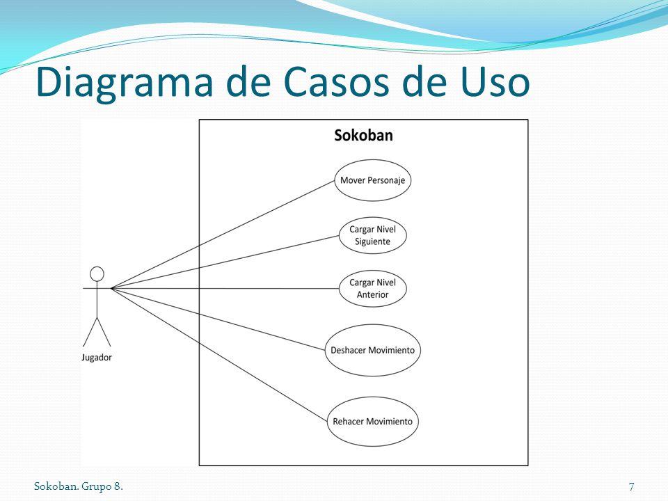 Diagrama de Casos de Uso Sokoban. Grupo 8. 7