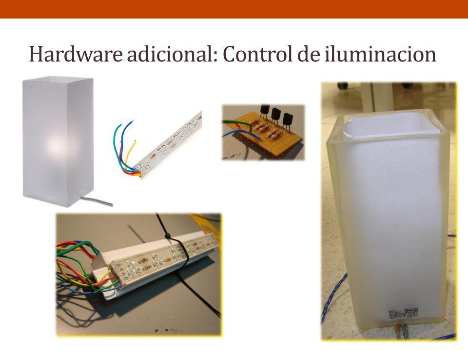 Hardware adicional: Control de iluminacion