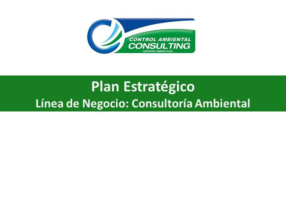 Plan Estratégico Línea de Negocio: Consultoría Ambiental