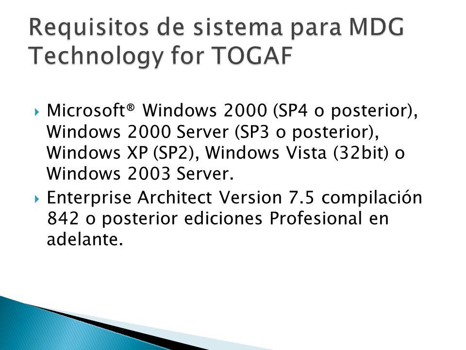 Microsoft® Windows 2000 (SP4 o posterior), Windows 2000 Server (SP3 o posterior), Windows XP (SP2), Windows Vista (32bit) o Windows 2003 Server. Enter