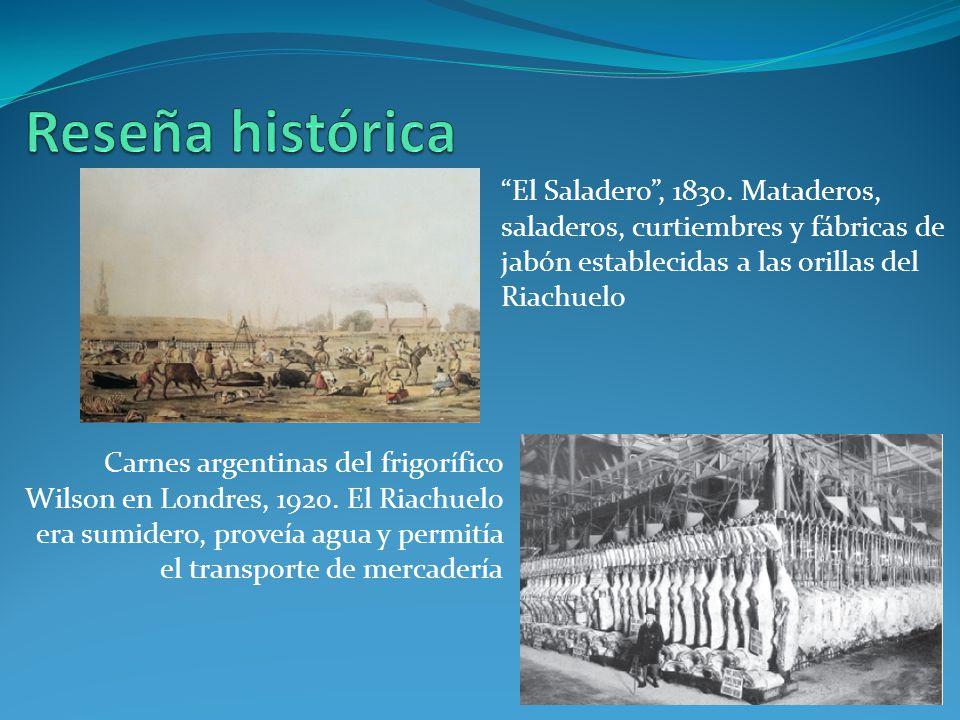 El Saladero, 1830.
