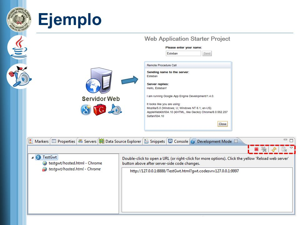Ejemplo Servidor Web