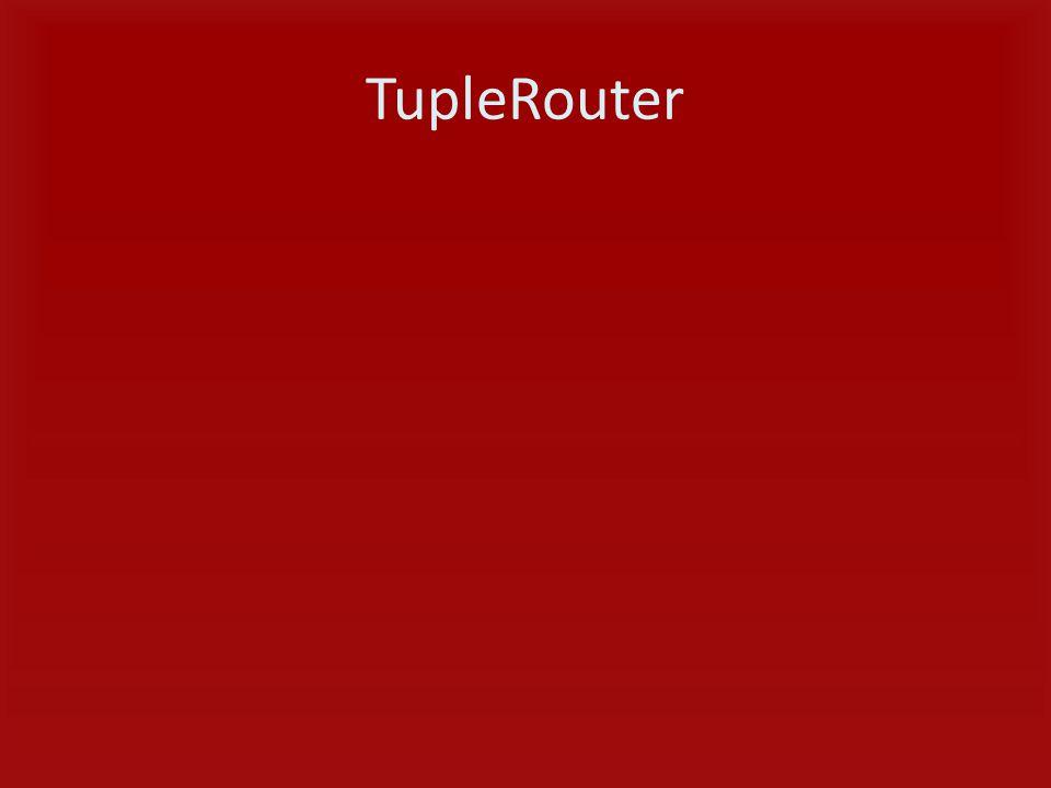 TupleRouter