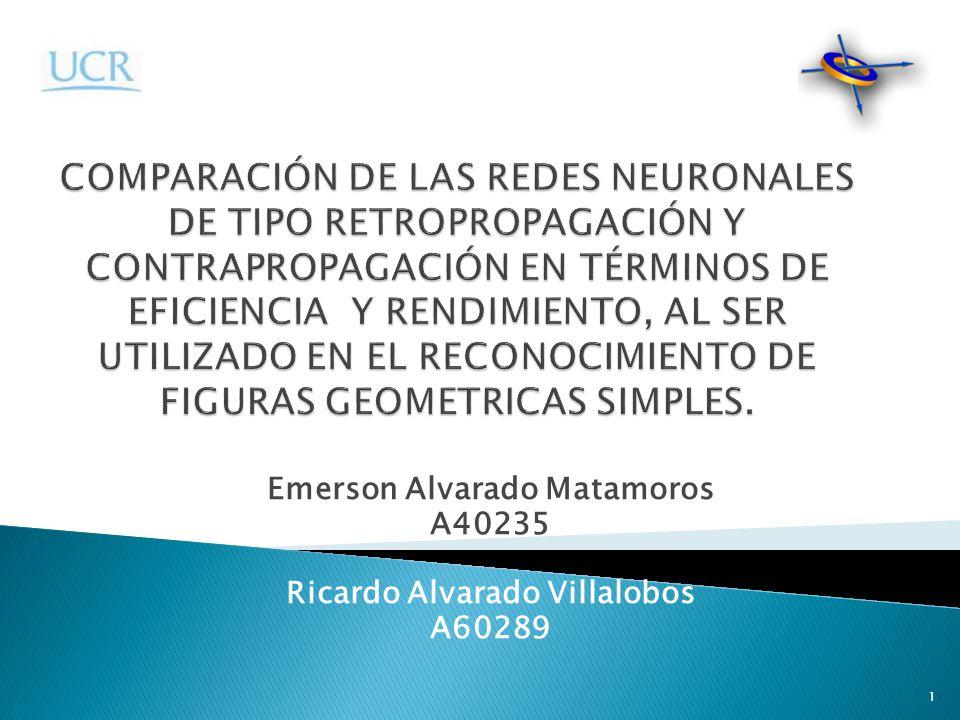 Emerson Alvarado Matamoros A40235 Ricardo Alvarado Villalobos A60289 1