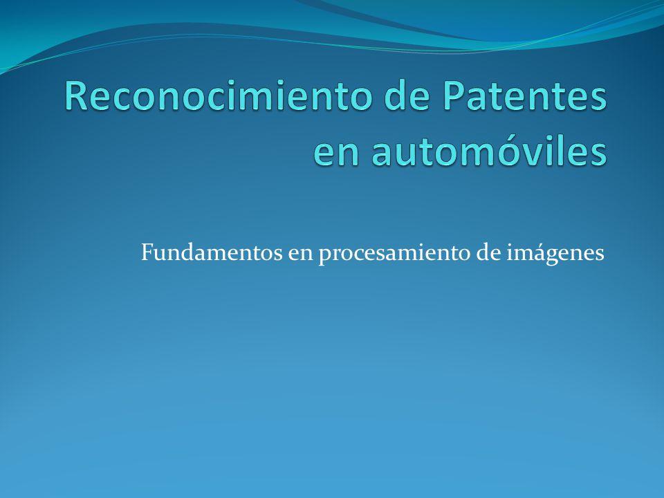 Introducción Actualidad ¿Por qué es necesario el reconocimiento de patentes.