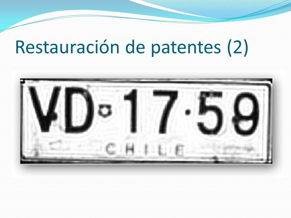 Restauración de patentes (2)