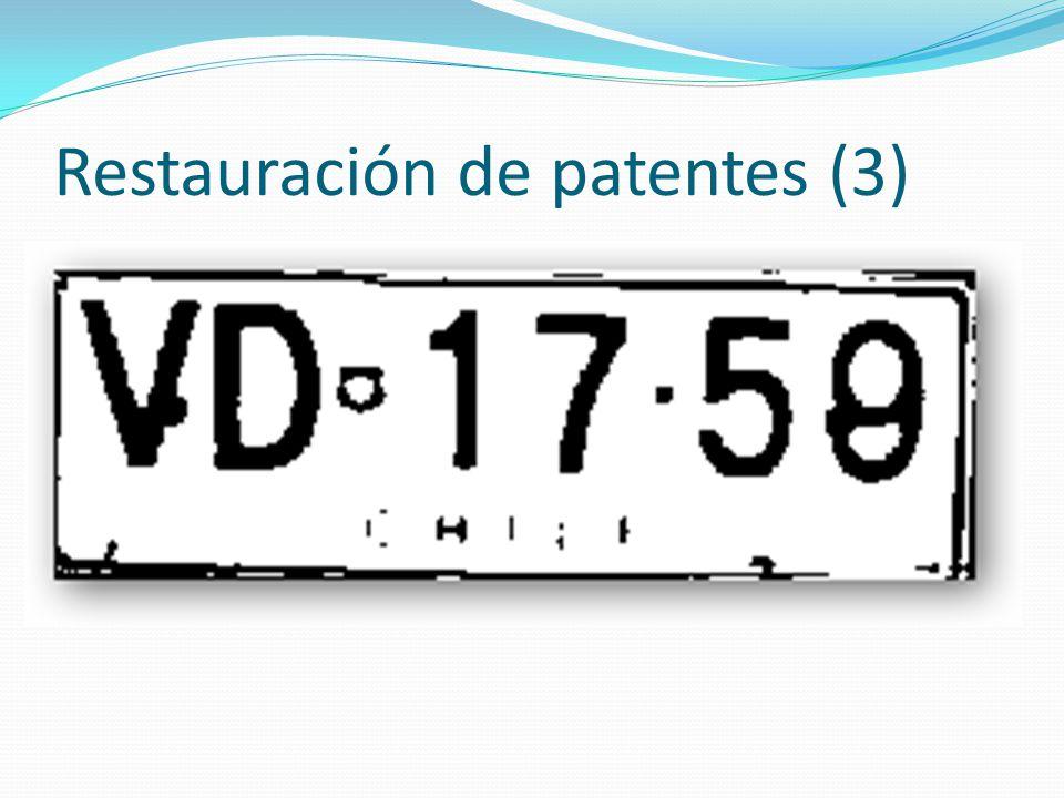 Restauración de patentes (3)