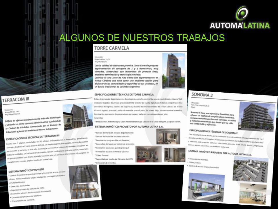 LE OFRECEMOS El Sistema KNX es un sistema domótico para la gestión de viviendas y edificios inteligentes, nacido de la idea de desarrollar un sistema europeo, único e intercambiable para todas las marcas del sector.