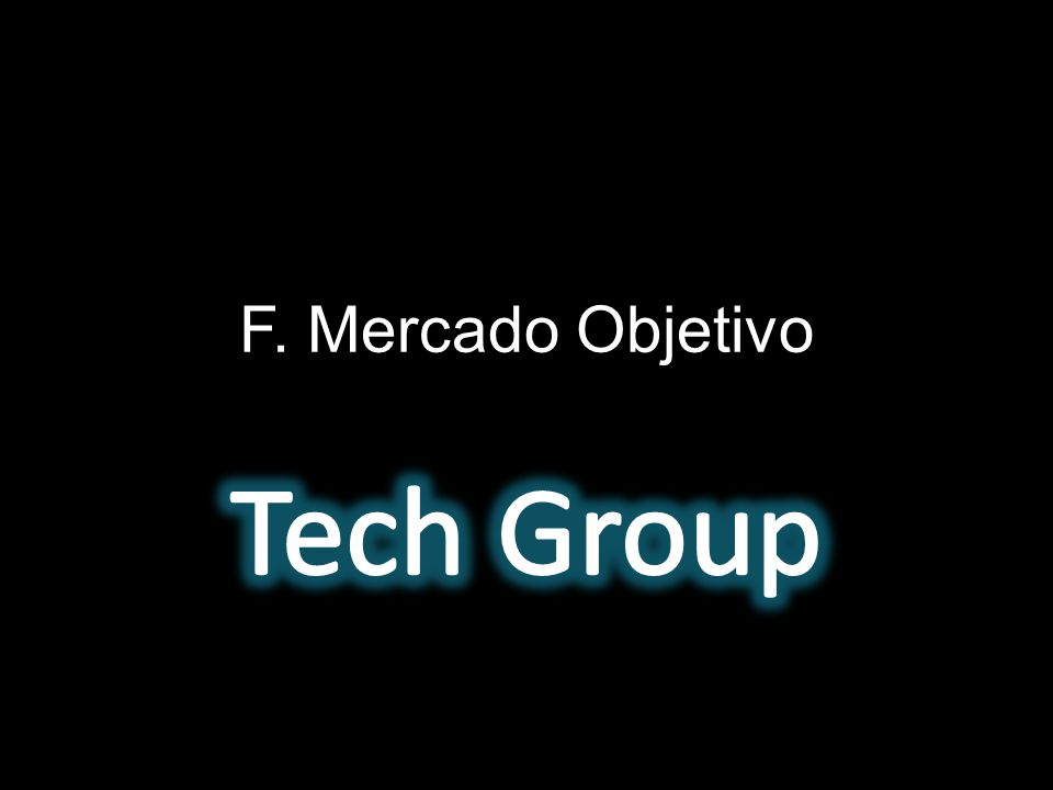 F. Mercado Objetivo