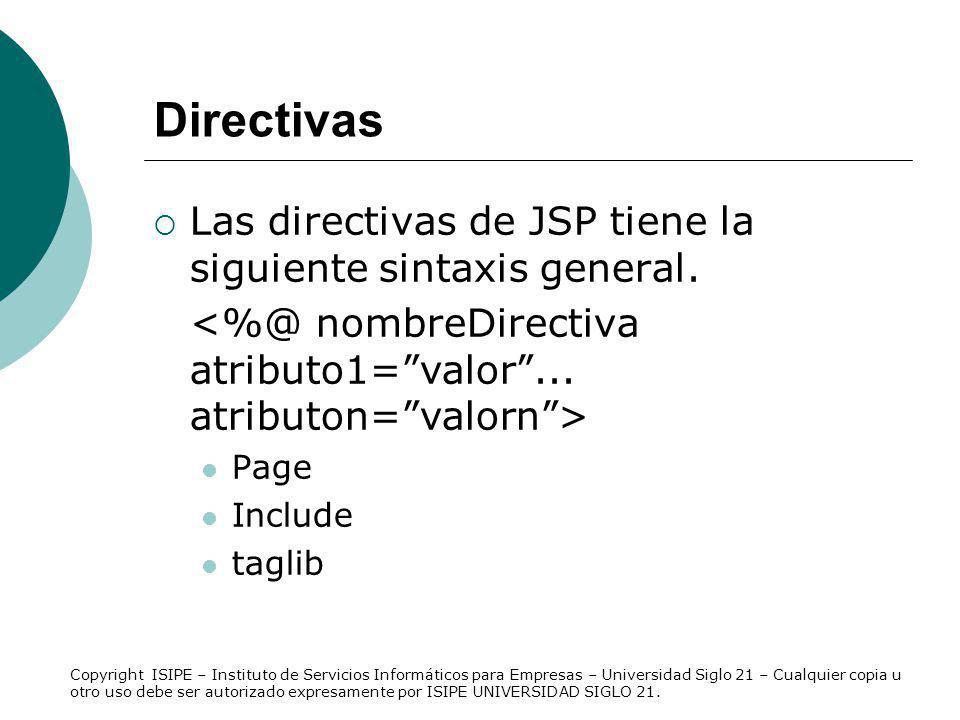 La acción Permite obtener el valor de la propiedad de un JavaBean creado en la página con el ámbito correspondiente.