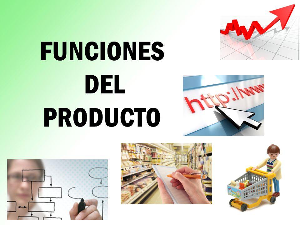 FUNCIONES DEL PRODUCTO