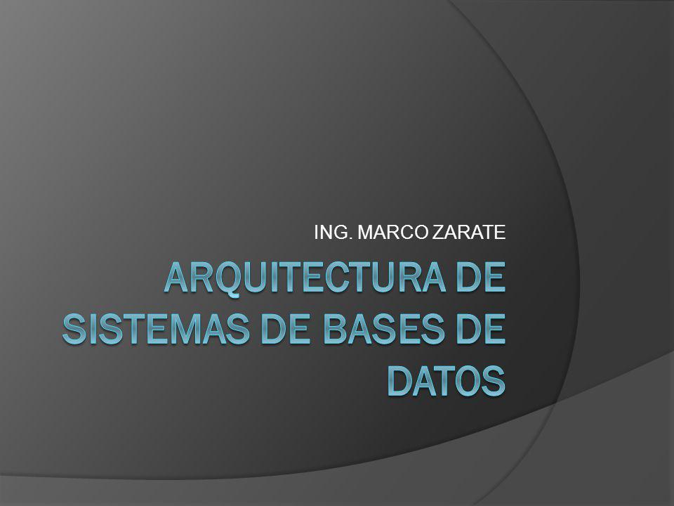 Sistemas de bases de datos cliente- servidor.
