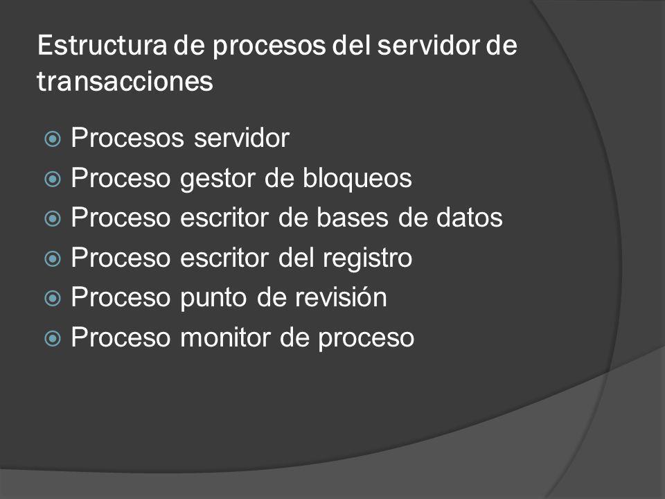 Servidores de datos Envío de páginas o envío de elementos Bloqueo Caché de datos Caché de bloqueos