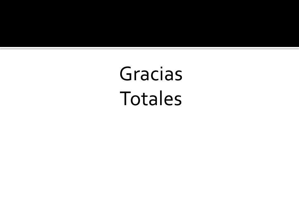 Gracias Totales