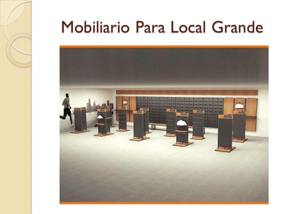 Mobiliario Para Local Grande