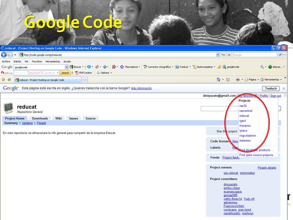 17 GoogleCode Google Code