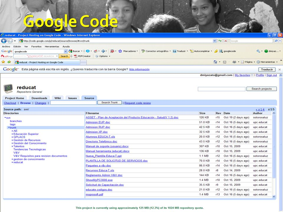 18 GoogleCode Google Code