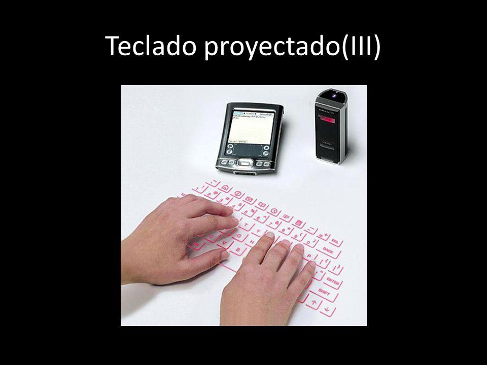 Teclado proyectado(III)