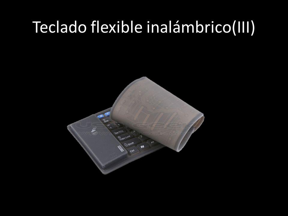 Teclado flexible inalámbrico(III)