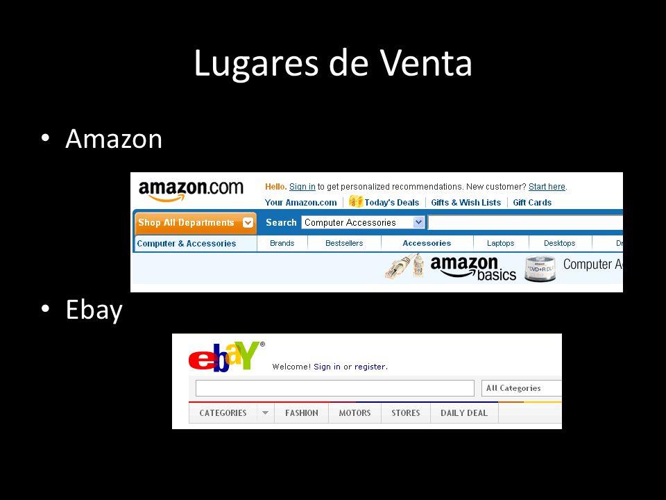 Lugares de Venta Amazon Ebay