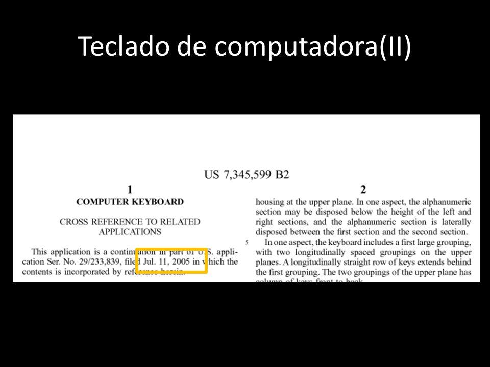 Teclado de computadora(II)