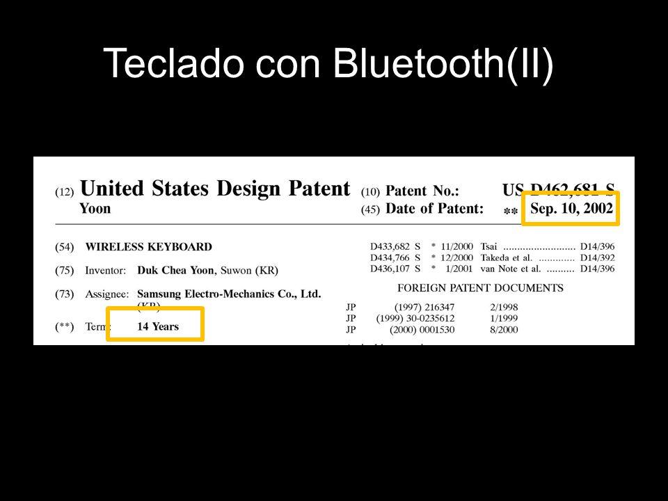 Teclado con Bluetooth(II)
