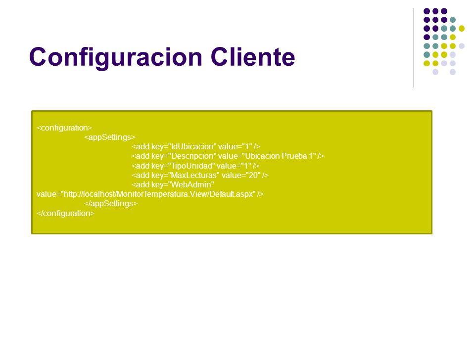 Configuracion Cliente