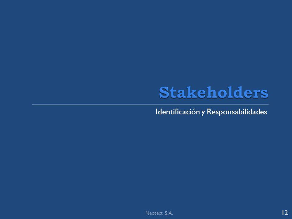 Identificación y Responsabilidades 12 Neotect S.A.