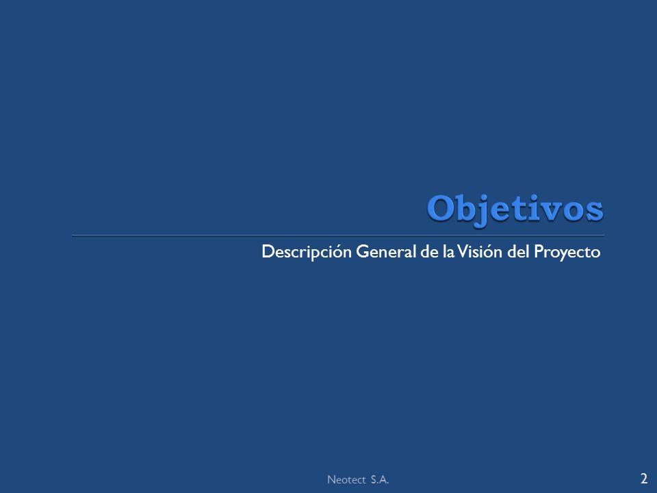 Descripción General de la Visión del Proyecto 2 Neotect S.A.