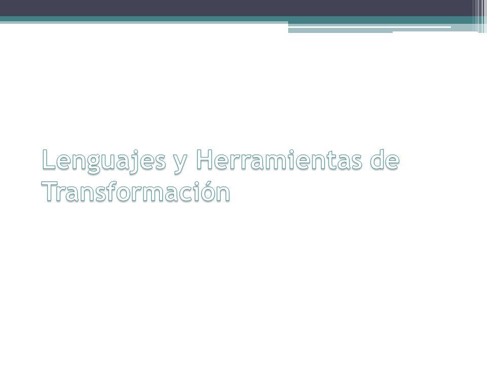 Lenguajes y Herramientas Relevamiento de trabajos actuales sobre especificación de transformaciones Caracterización: Generales Metamodelos Reglas de transformación Introducción – Enfoques – Verificación – Caso de Estudio – Conclusiones